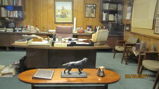 Sam Walton's Office, Walmart Museum, Bentonville, AR