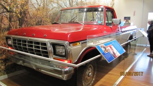 Sam Walton's Pickup Truck, Walmart Museum, Bentonville, AR