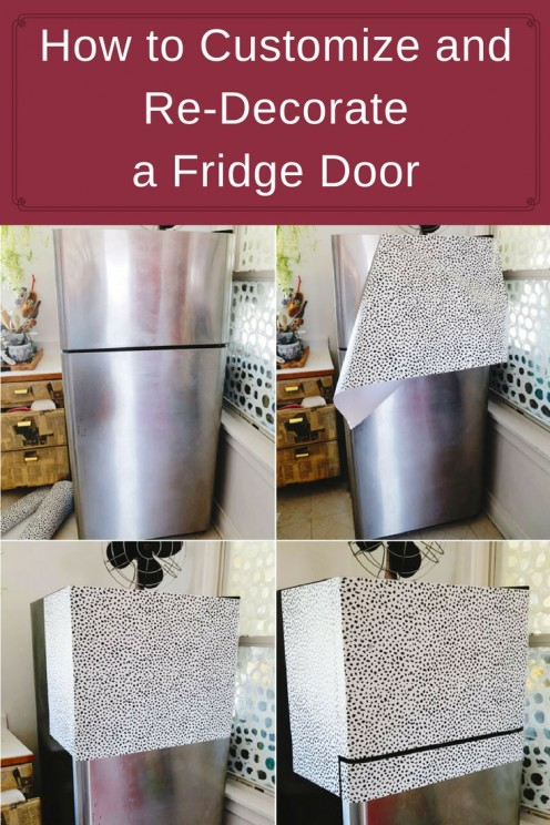 How To Decorate a Fridge Door