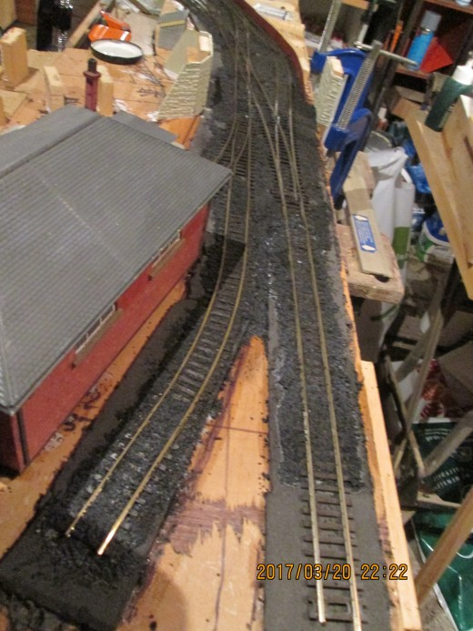 One of the Slaters' North Eastern buffer stops will be placed at the end on the centre road here