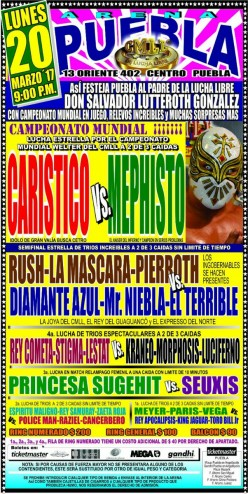 Finally! The CMLL Running Diary Has Come Back!