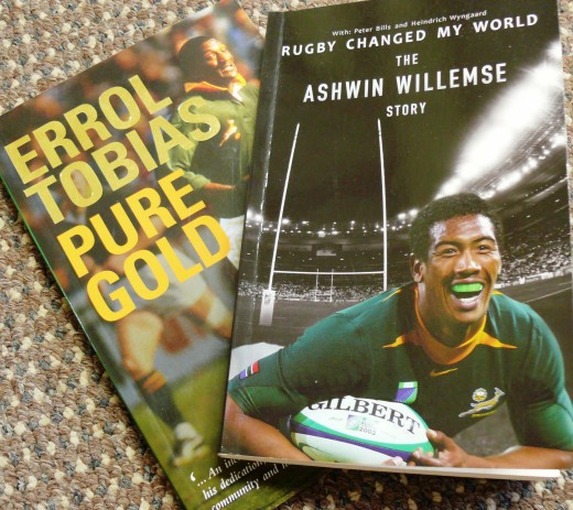 Two interesting rugby books