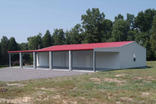 Steel building for school/ factory/labor shed