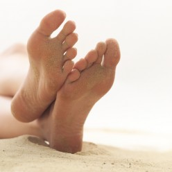 Find the right cure for sweaty feet
