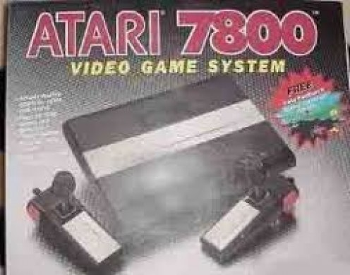 The Atari 7800 ProSystem ha improved graphics over the 2600 console but it was, however, backwards compatible, allowing it to play 2600 and 7800 game cartridges.