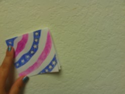 How To Make A Fourth of July Card