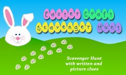 Easter Bunny Craft Scavenger Hunt