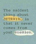 Betrayed by a friend? How to deal with betrayal by a loved one