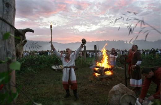 A Pagan Religious Ritual.