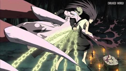 Minato and Kushina's Death