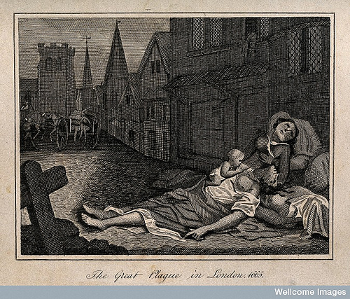 The Plague of London. The last incidence of bubonic plague in the UK