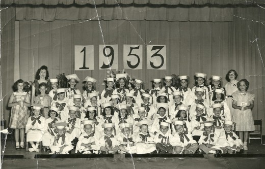 Kindergarten Graduation (My husband's the year I was born)