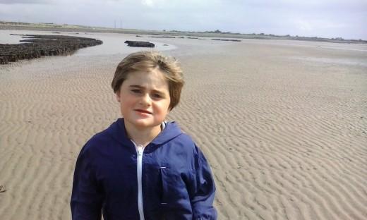 My son, Adam Godley, now aged 9.