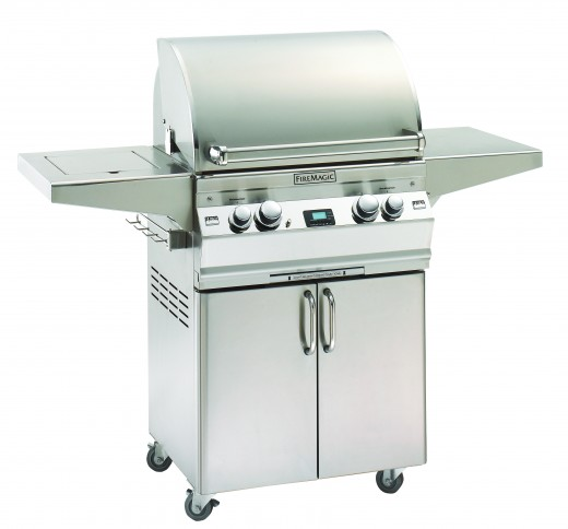 Firemagic Aurora Gas Grill on FreeStanding Cart