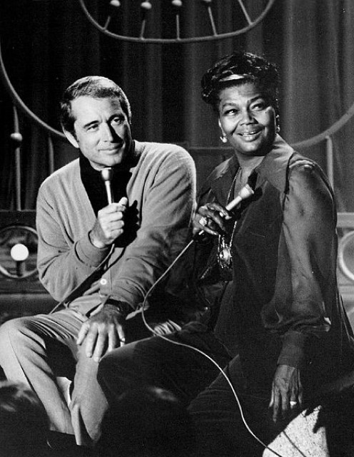 Perry Como and Pearl Bailey  on her short lived show, The Pearl Bailey Show.
