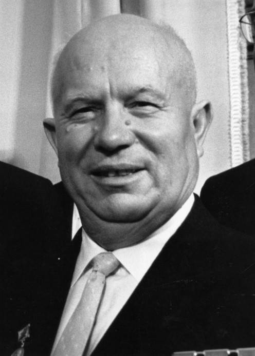 Nikita Khrushchev, once-powerful Premier of Russia.