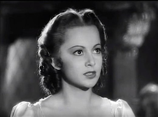 Her performance in Captain Blood opposite swashbuckler Errol Flynn helped make Olivia a star!