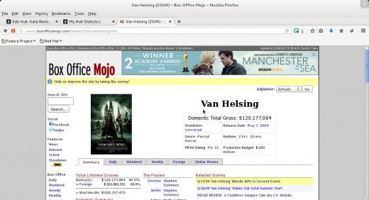 Van Helsing - Beckinsale and Jackman