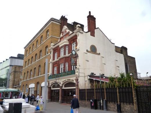 The Blind Beggar pub, Whitechapel Road