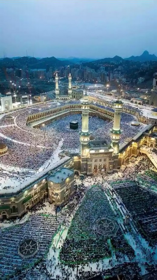 Mecca is the most important place that all Islamic people should visit at least once in their life time, I don;t know enough about this religion, even though I have read the book of the Koran, But it is more difficult than the Bible to understand it.