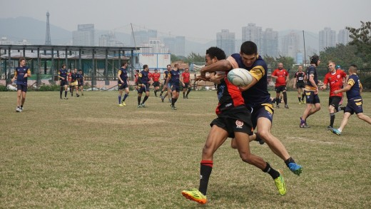 Rugby is one of the top sports for muscle endurance and cardio vascular workouts
