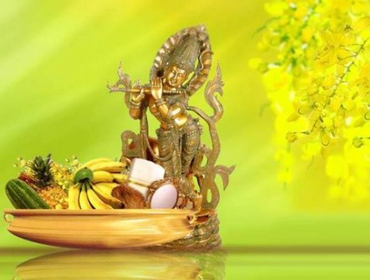 Vishu, Hindu New Year Celebration in Kerala