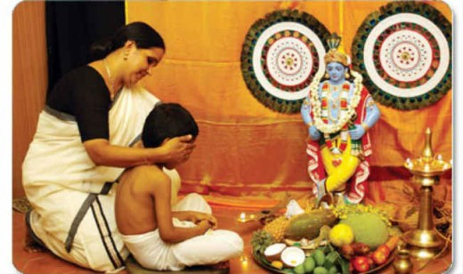 Vishu, The Hindu New Year Celebration