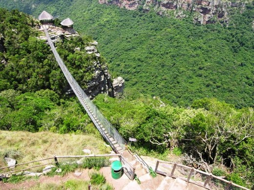 Oribi Gorge suspension bridge, Port Shepstone, KwaZulu-Natal