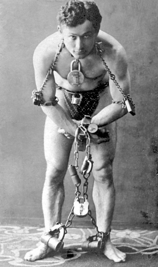 Famous Escape Artist Harry Houdini