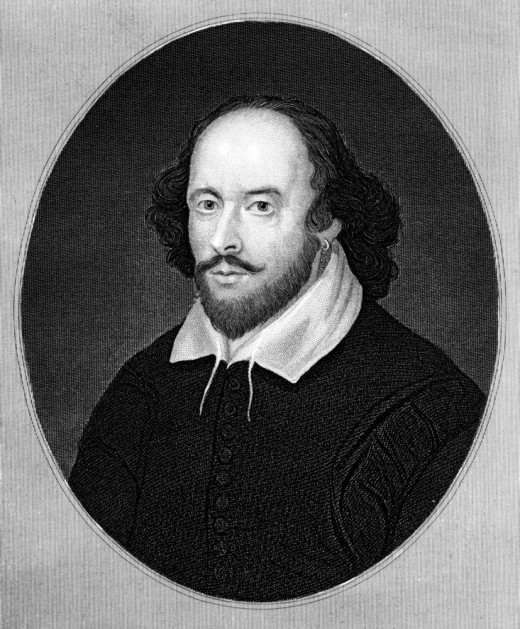 Famous Playwright William Shakespeare