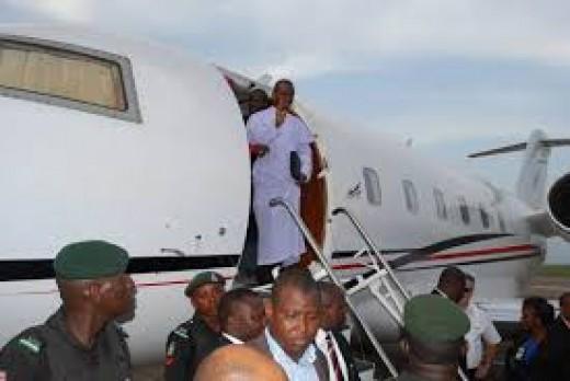 Fr. Ejike Mbaka returning from a Mission.