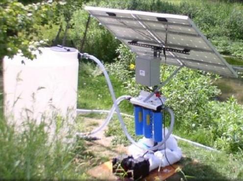 SOLAR WATER TREATMENT PLANTS