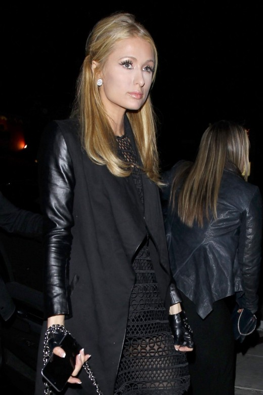 Paris Hilton, heiress to Hilton Hotels and other business ventures. Does she have an ATM card?