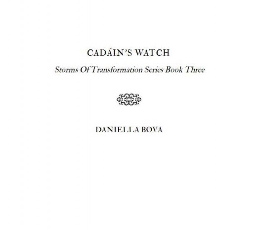 "Inside Cover of ""Cadain's Watch"""