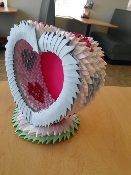 Three Dimensional Origami Artwork