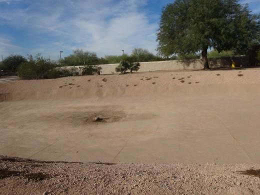 Ball Court in Pueblo Grande, Phoenix, AZ