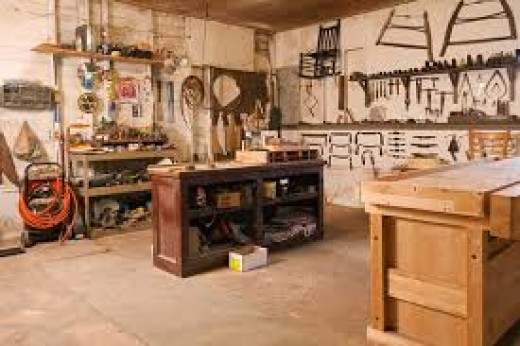 The wood shop has many hand and power tools that have several different uses depending on the project.