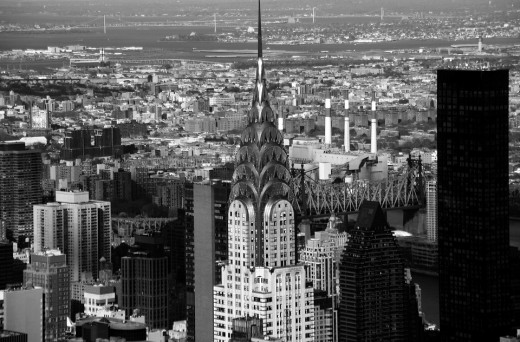 Designed in an Art Deco style, the Empire State Building is an American cultural icon.  It has been visited by 110 milliion people, many of whom came to experience the stunning views of Manhattan available via the building's viewing platforms.