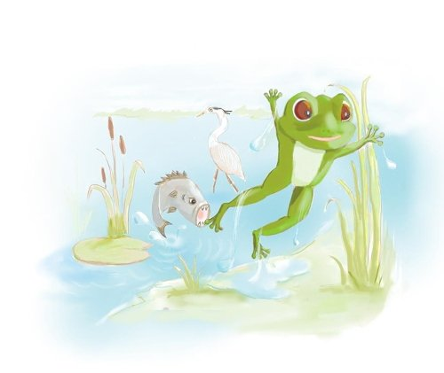 Illustrating is a skill that might be handy for a writer of picture books
