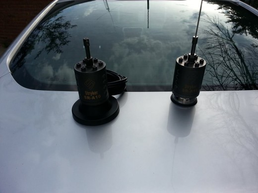 Stryker SR-A10 CB Antenna in Magnetic and roof mount version