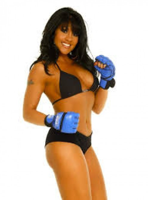 Don't let the her fool you, Mia St. John may model but she is also a prolific women's prizefighter.