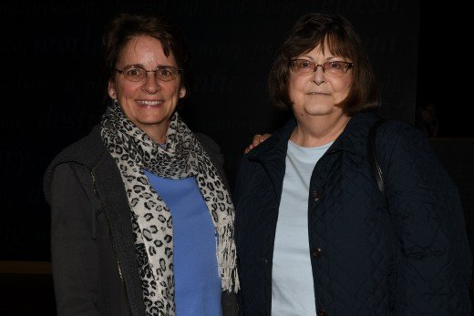 Maggie Sheil and Shirley Klusman