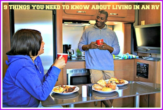 If you want to live in a motor home or camper, find out what you need to know before you buy.