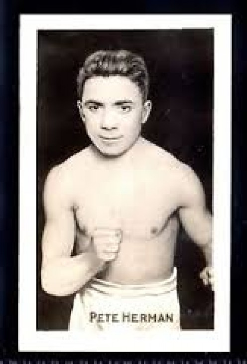 Pete Herman is a two-time bantamweight world champ and he was inducted into the International Boxing Hall of Fame in 1997.