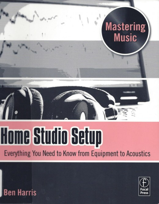 "The Cover of the Book ""Home Studio Setup"" by Harris"