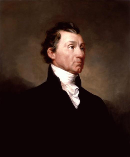 James Monroe's official White House portrait