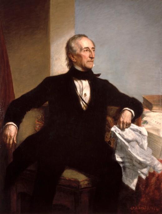 John Tyler's official White House portrait