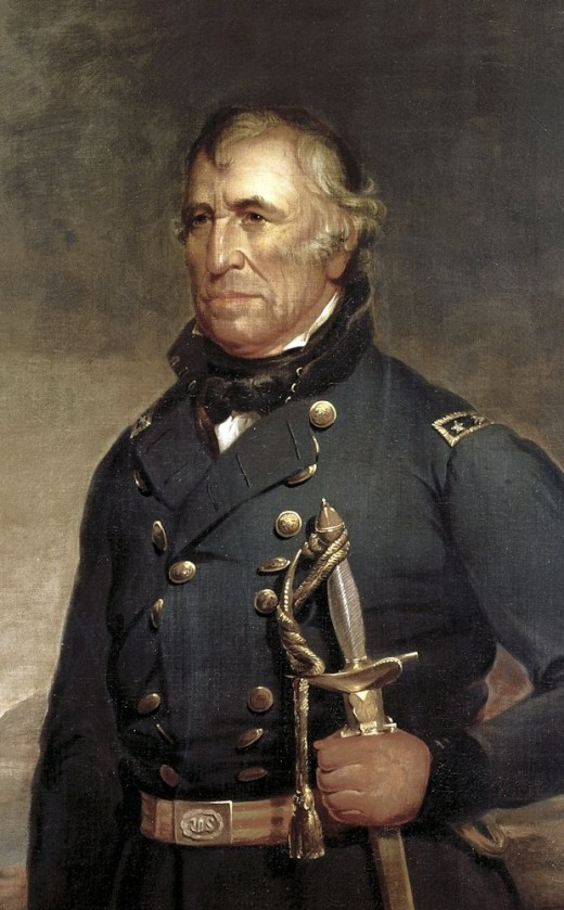 Zachary Taylor official White House portrait