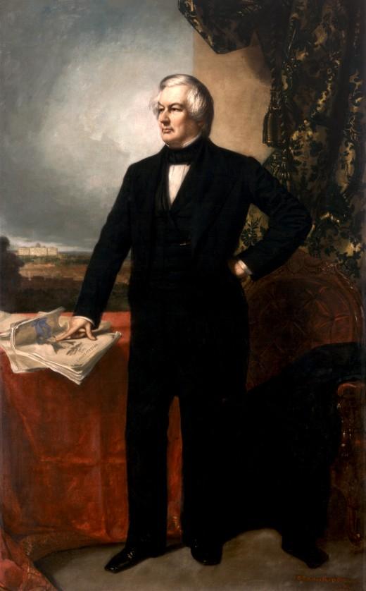 Millard Fillmore's official White House portrait
