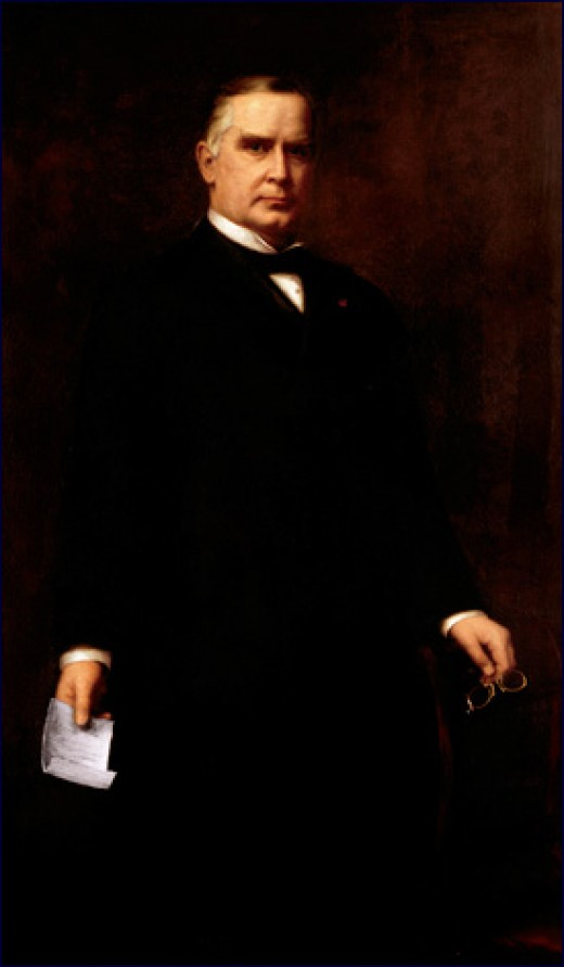 William McKinley's official White House portrait